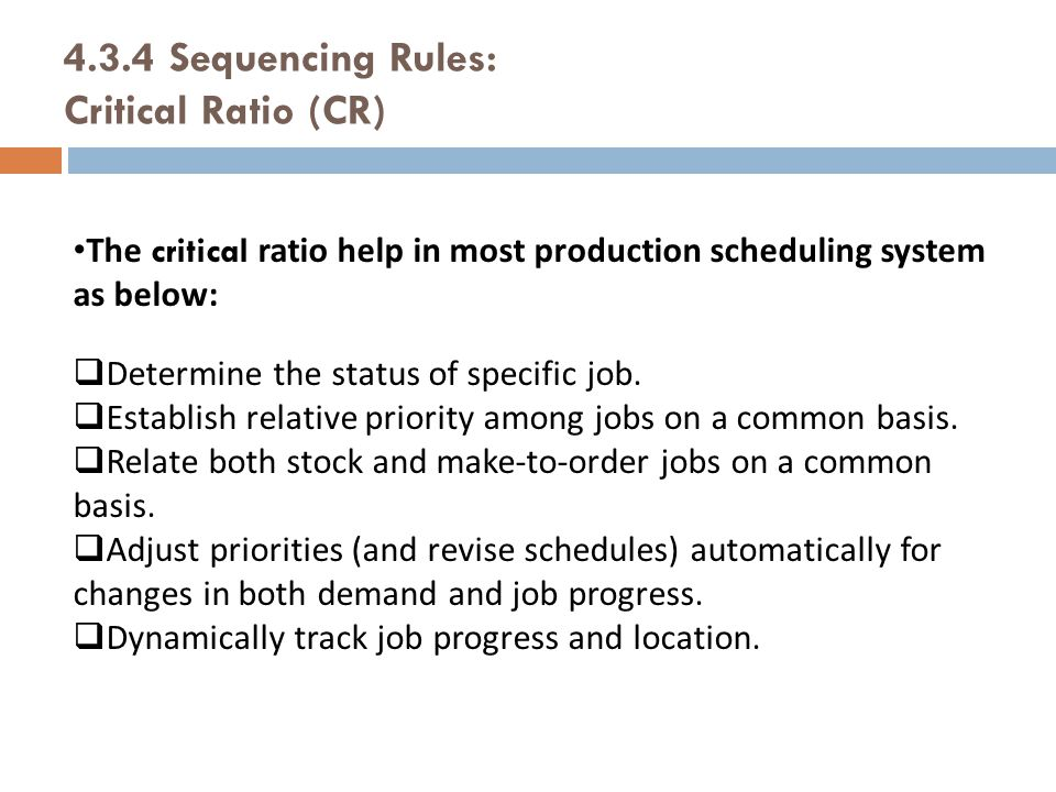 43 Priority Sequencing Rules Ppt Video Online Download Production Scheduler  Job Description   Project Scheduler Job