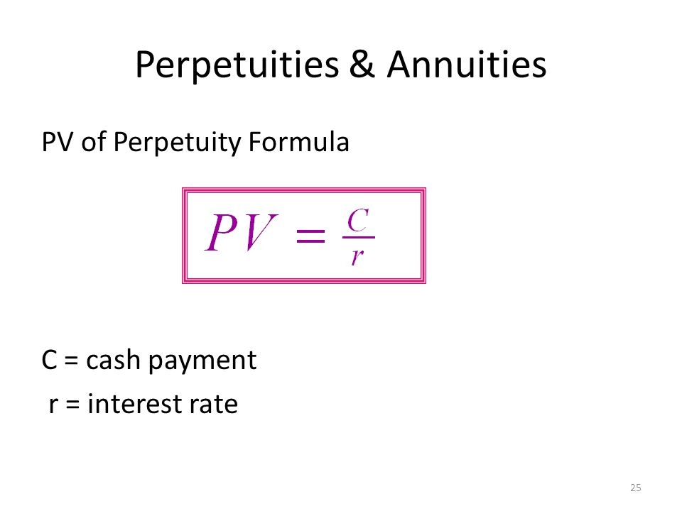 annuities calculation - Minimfagency - annuity equation