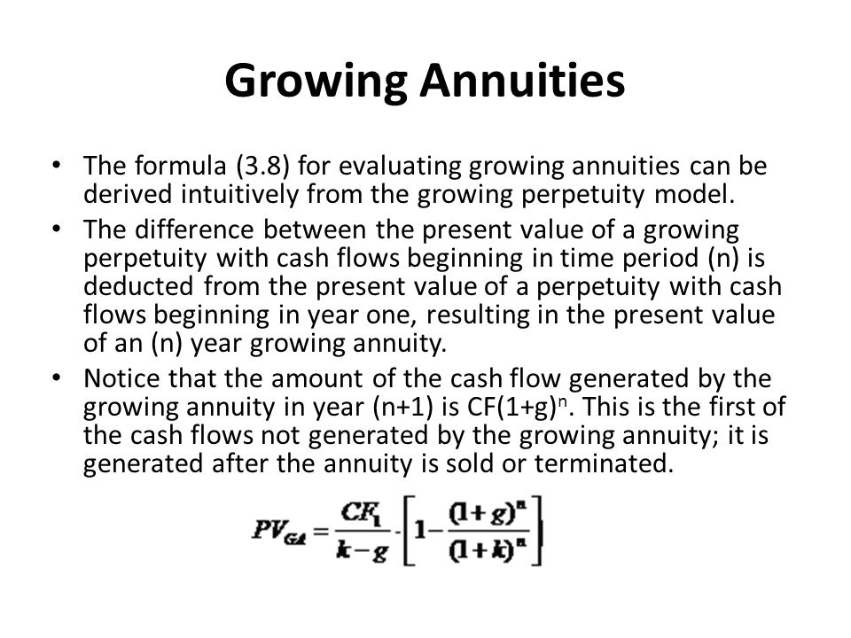 increasing annuity formula - Physicminimalistics - annuity equation