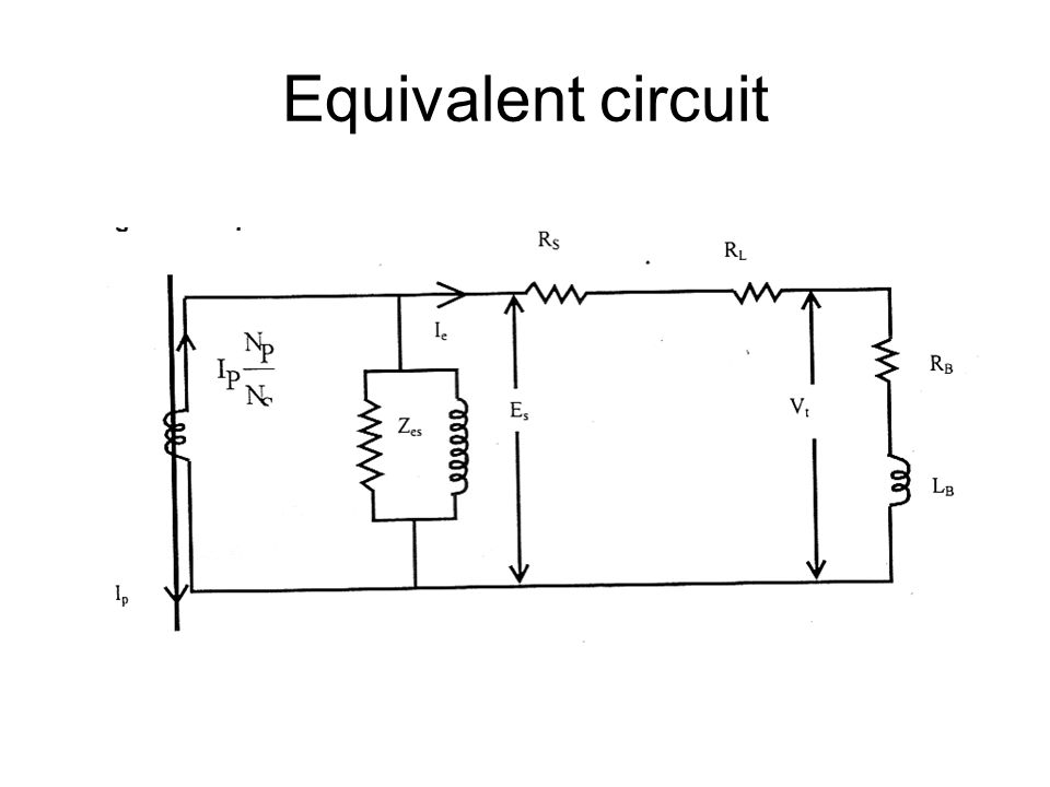 equivalent resistance of a circuit