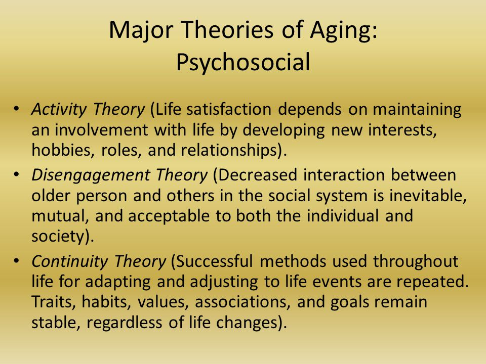 What Is The Difference Between Activity Theory And Disengagement Theory
