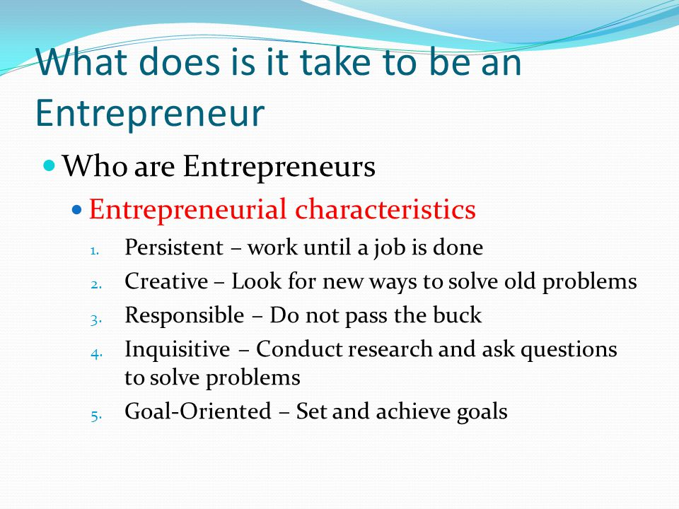 Your Potential as an Entrepreneur - ppt video online download - questions to ask entrepreneurs