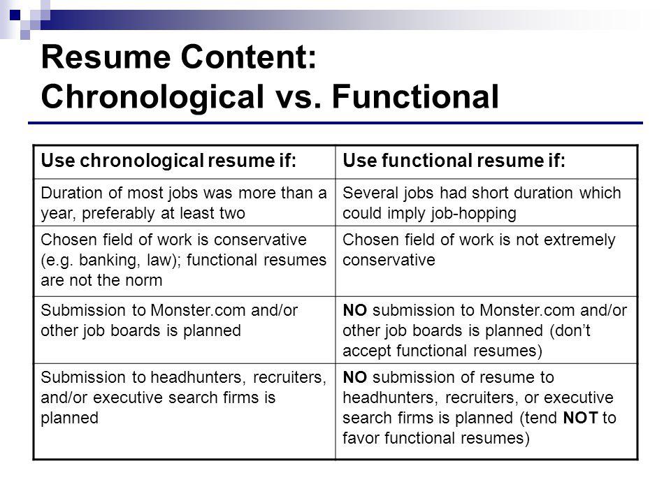 functional chronological resume - Ozilalmanoof - functional resume vs chronological resume