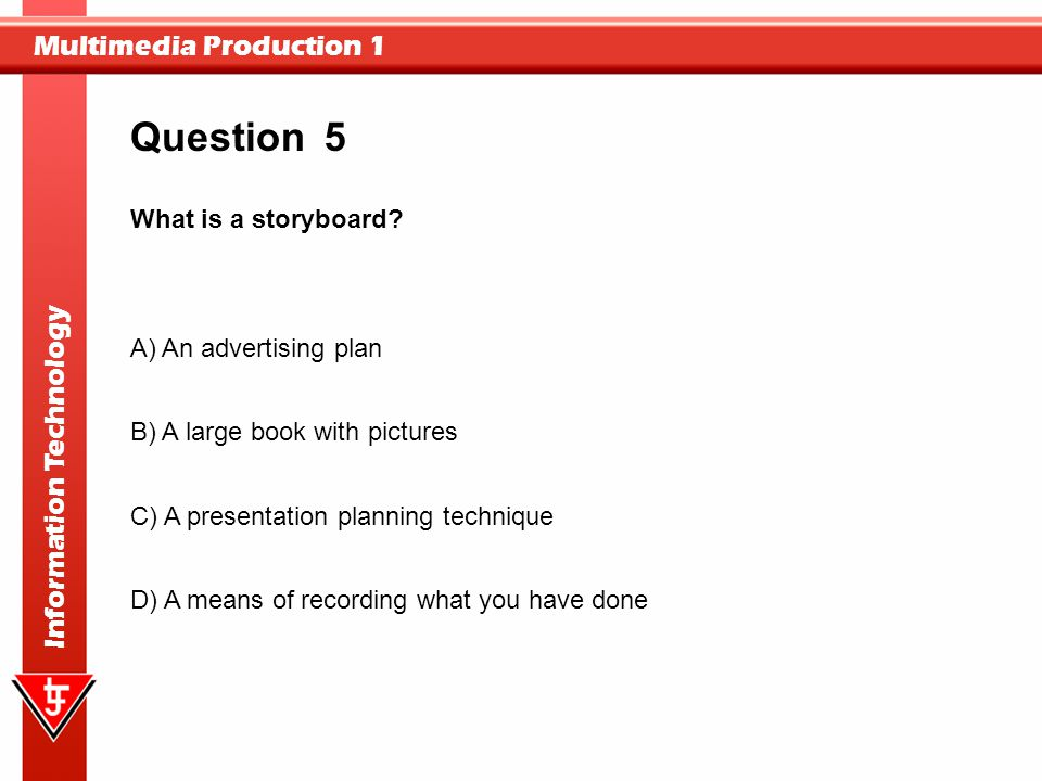 Multimedia Production - ppt video online download - what is storyboard