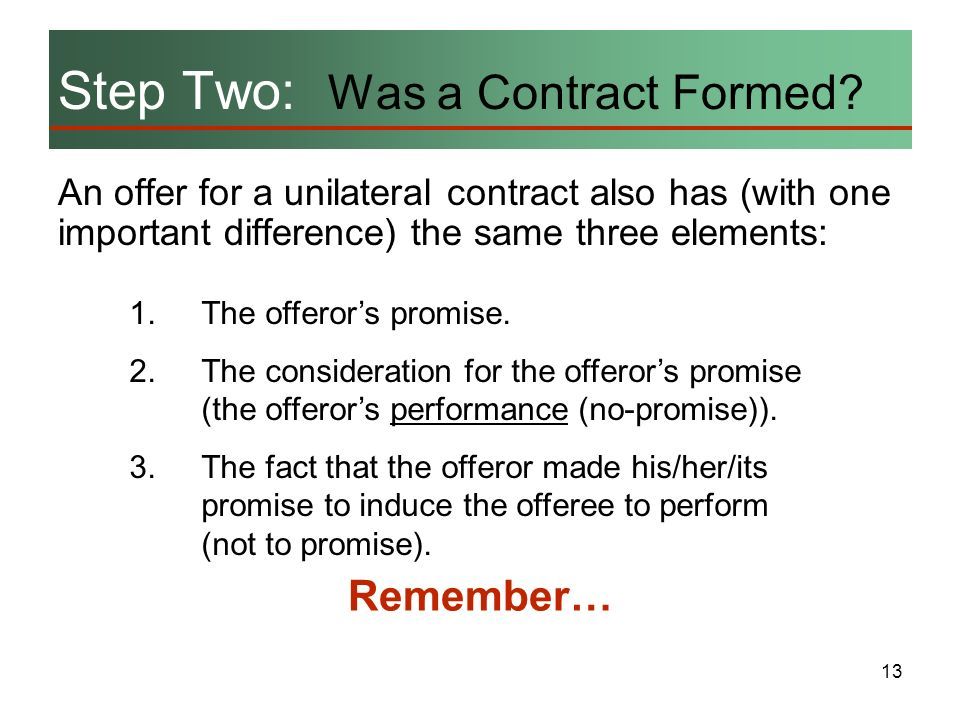 contract important elements - Wwwrule-of-law