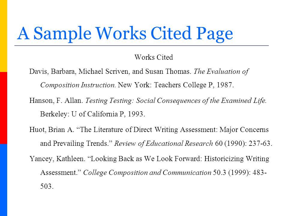 FREE MLA Format Citation Generator Cite This For Me