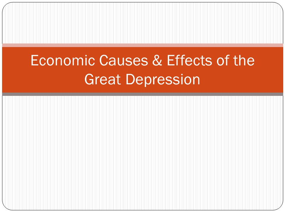 The Effects Of The Great Depression On Farmers