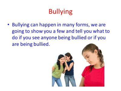 The different types of bullying - ppt video online download