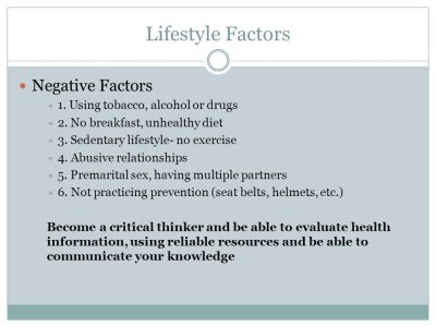 Ch. 1 Outline Health- The combination of physical, mental ...