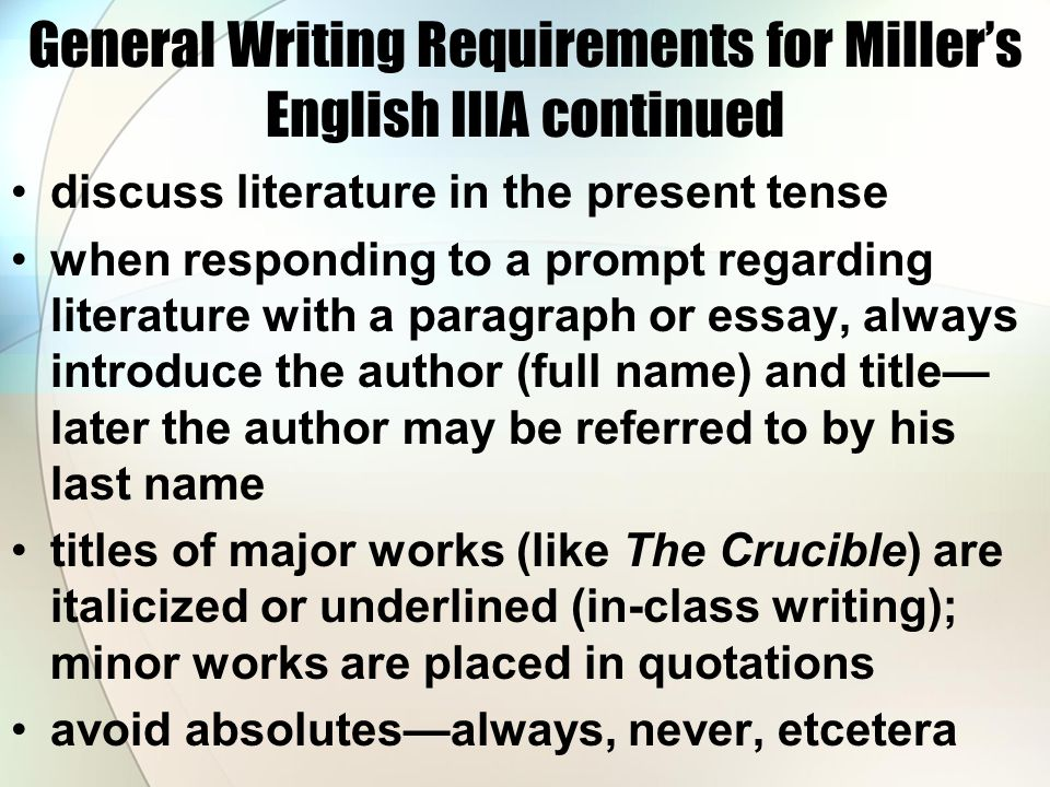 What is the significance of the title the crucible essay Essay
