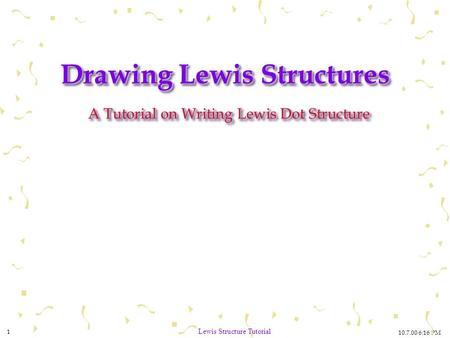octet rule structures - ppt video online download
