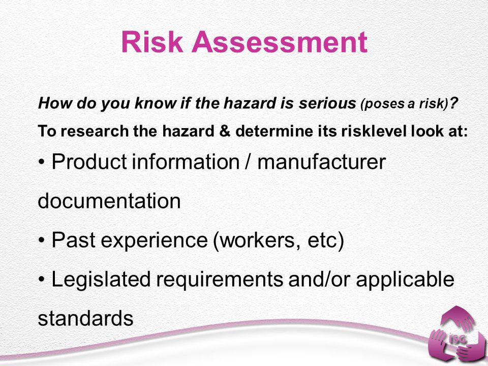 RISK ASSESSMENT Suna AHİOĞLU OSH Expert - ppt video online download - product risk assessment