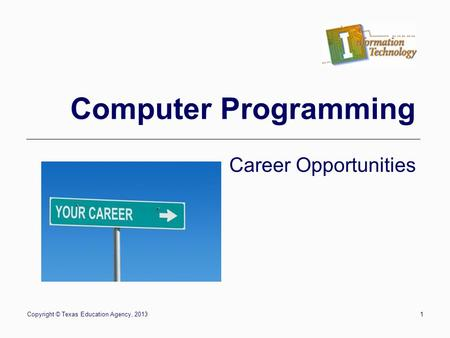 Careers and Certification - ppt video online download - computer programmers careers