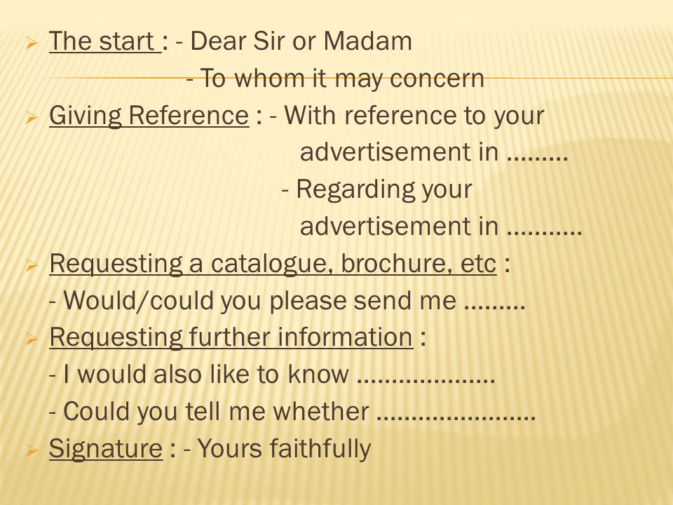 INQUIRY LETTER AND RESPONSE OF INQUIRY LETTER - ppt video online - inquiry letter