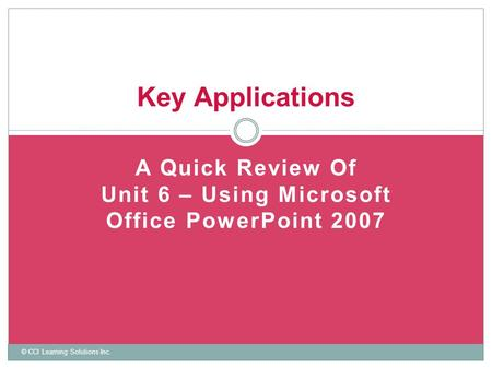 MS Power point Tutorial - ppt video online download