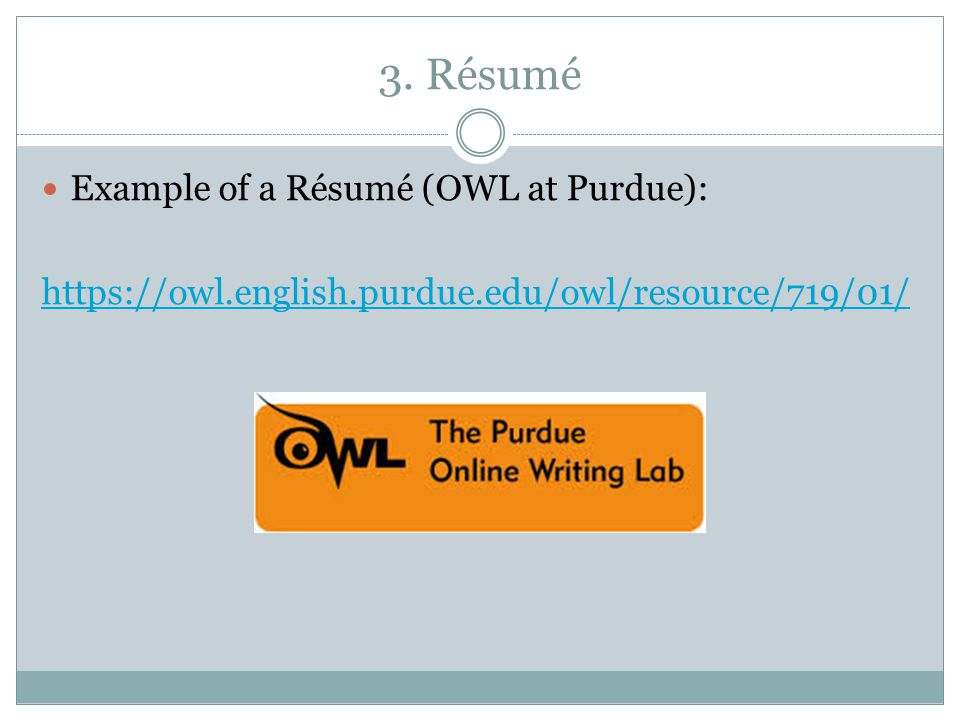 Professional\/Technical Writing The Basics - ppt download - purdue owl resume
