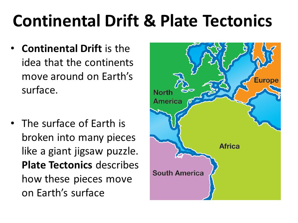 Continental drift theory and plate tectonic Homework Service