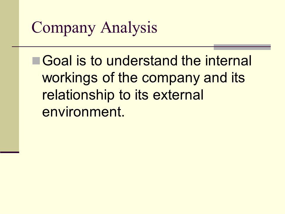Company Analysis - ppt download - company analysis