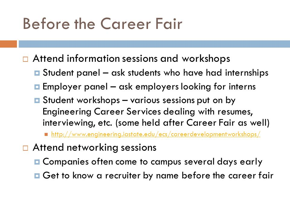 What to do if you get an interview - ppt download - what to ask at a job fair