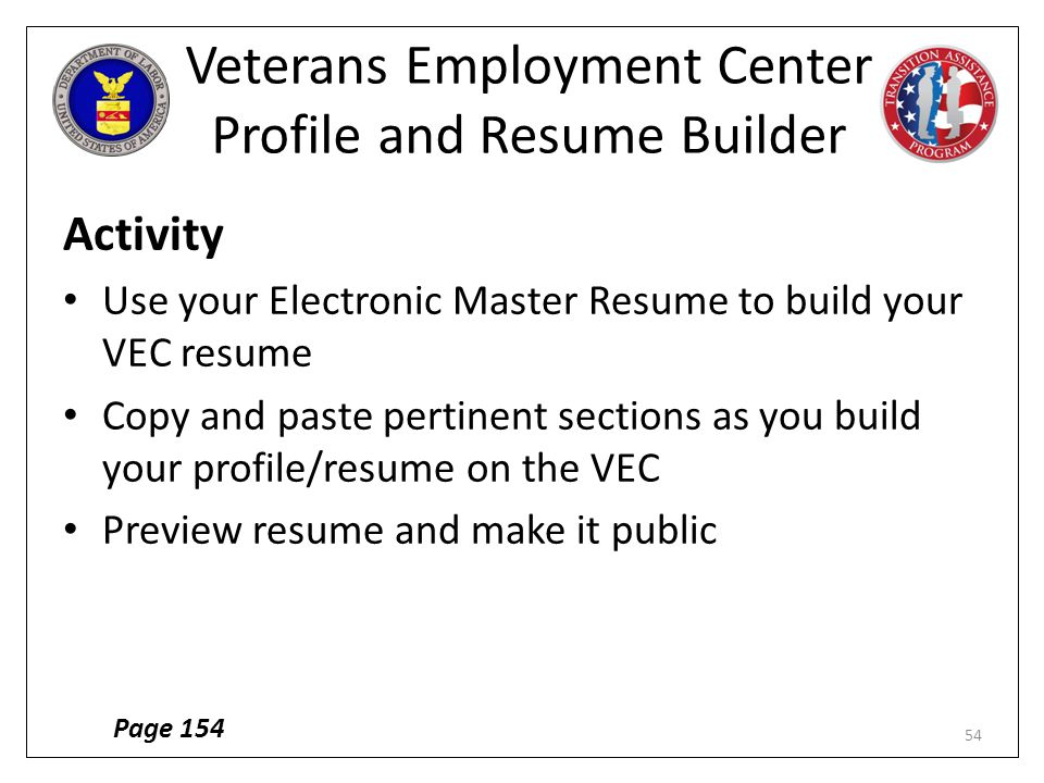 vets resume builder download resume builder military