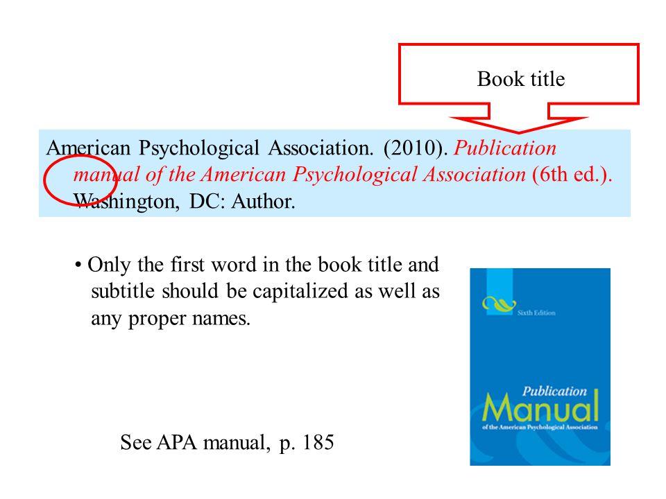 6th edition apa manual candybrand
