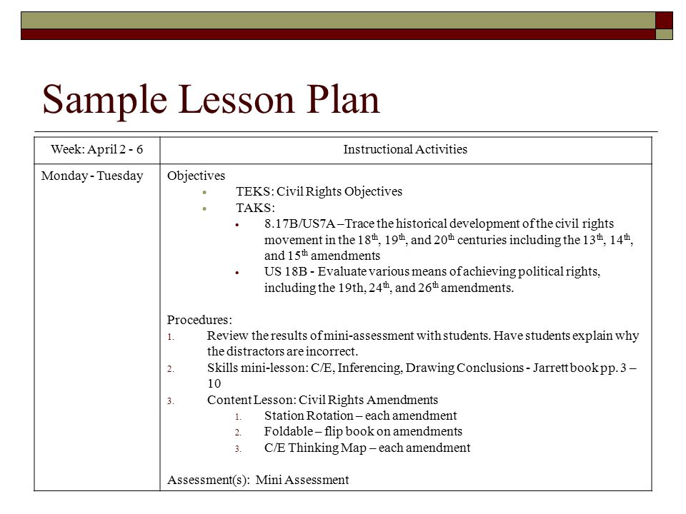 Grade Lesson Plan Template Images Of Lesson Plan Template ...