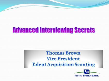 Behavioral Interviewing ppt video online download