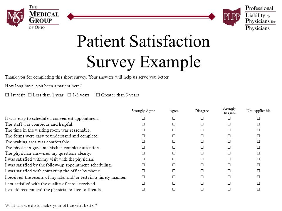Patient Satisfaction Survey Template - staruptalent - - patient satisfaction survey template