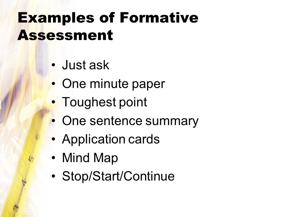 Different Examples Of Formative Assessment This Is A Nice Chart Of
