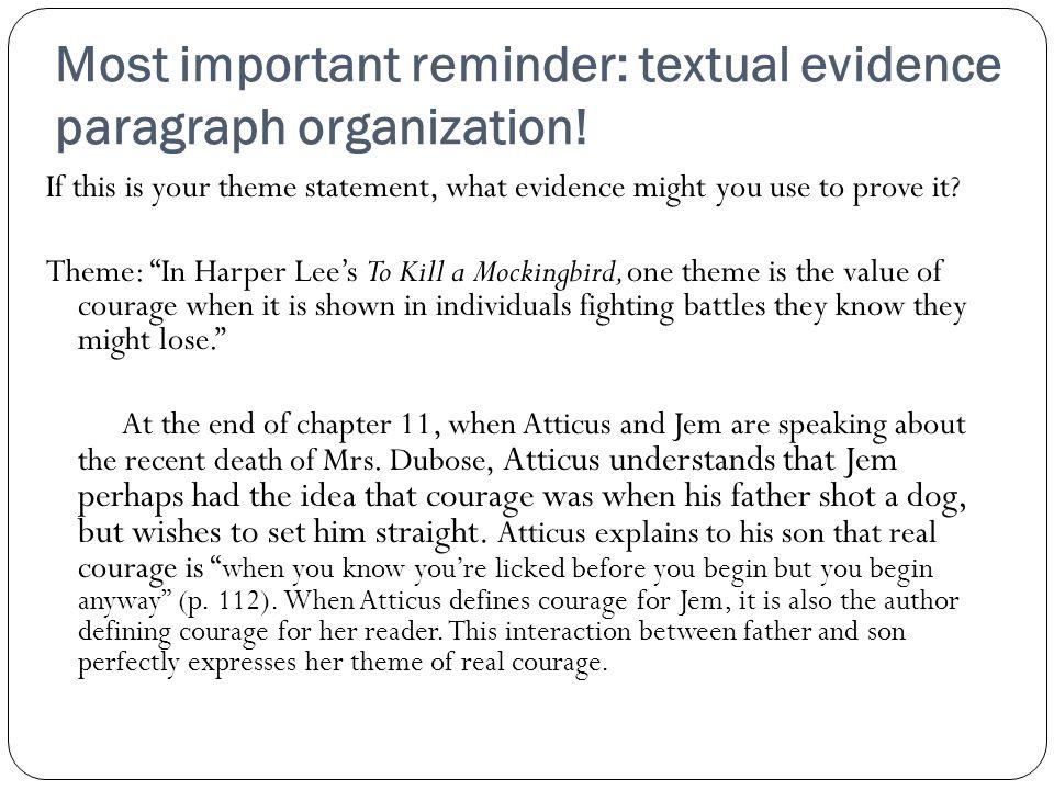 daily notes handouts on to kill a mockingbird themes essay by harp