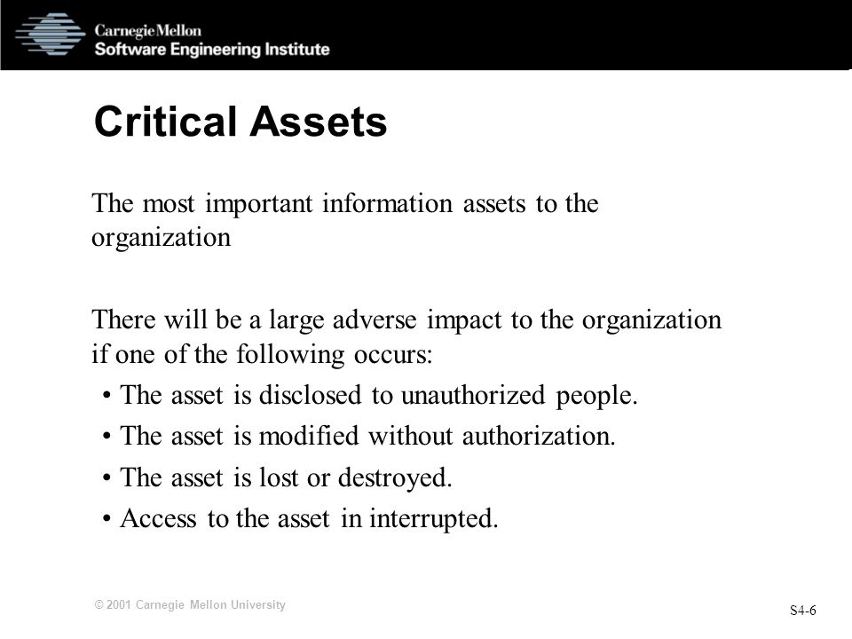 OCTAVESM Process 4 Create Threat Profiles - ppt download
