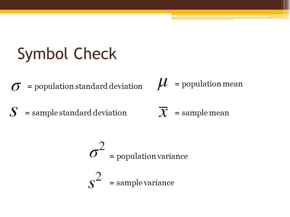Estimating a Population Variance - ppt video online download - sample variance