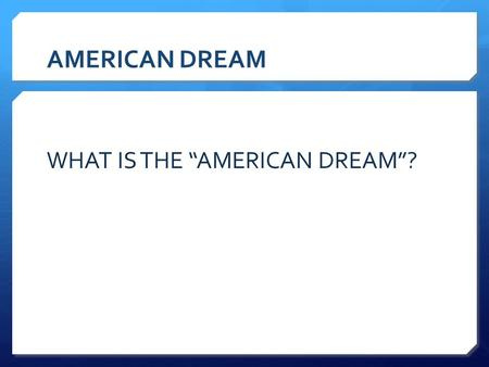 American dream in a raisin in the sun essay Custom paper Academic