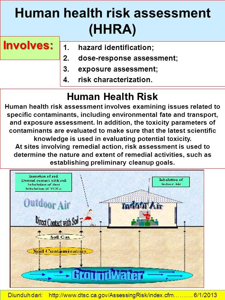 ... ERA ENVIRONMENTAL RISK ASSESSMENT   Ppt Download   Health Risk  Assessment ...