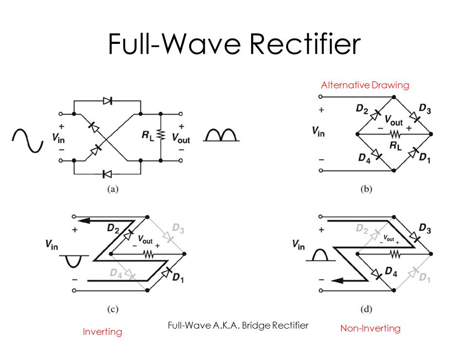 power supply full wave rectifier