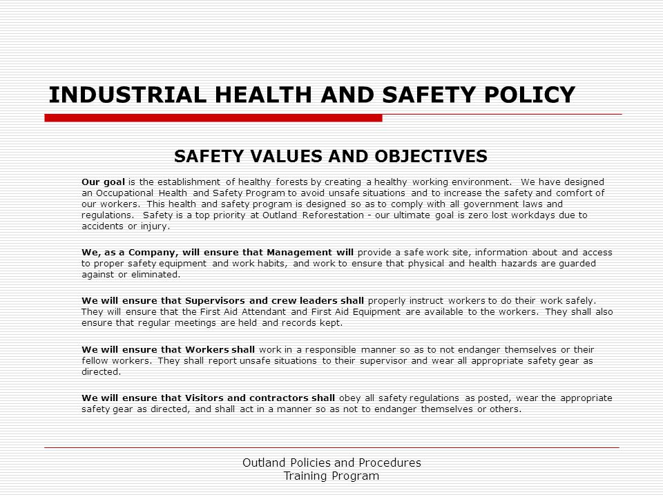Electrical Safety Policy Template Image collections - Template - safety manual template