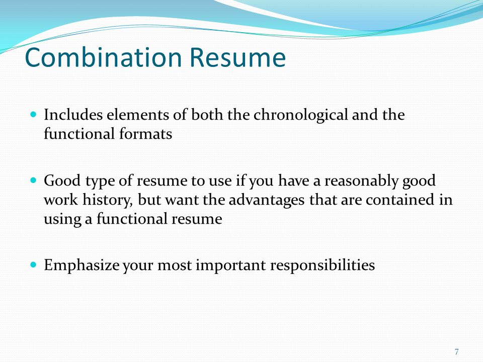 Combination Resume Definition   Jobs.billybullock.us