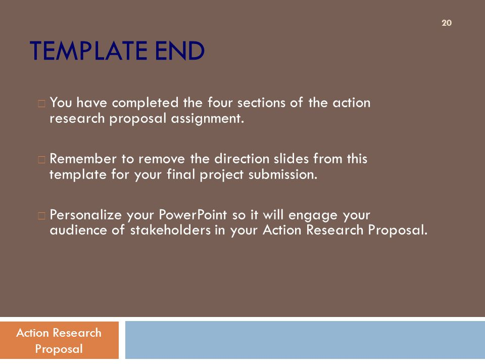 Action Research Paper Powerpoint