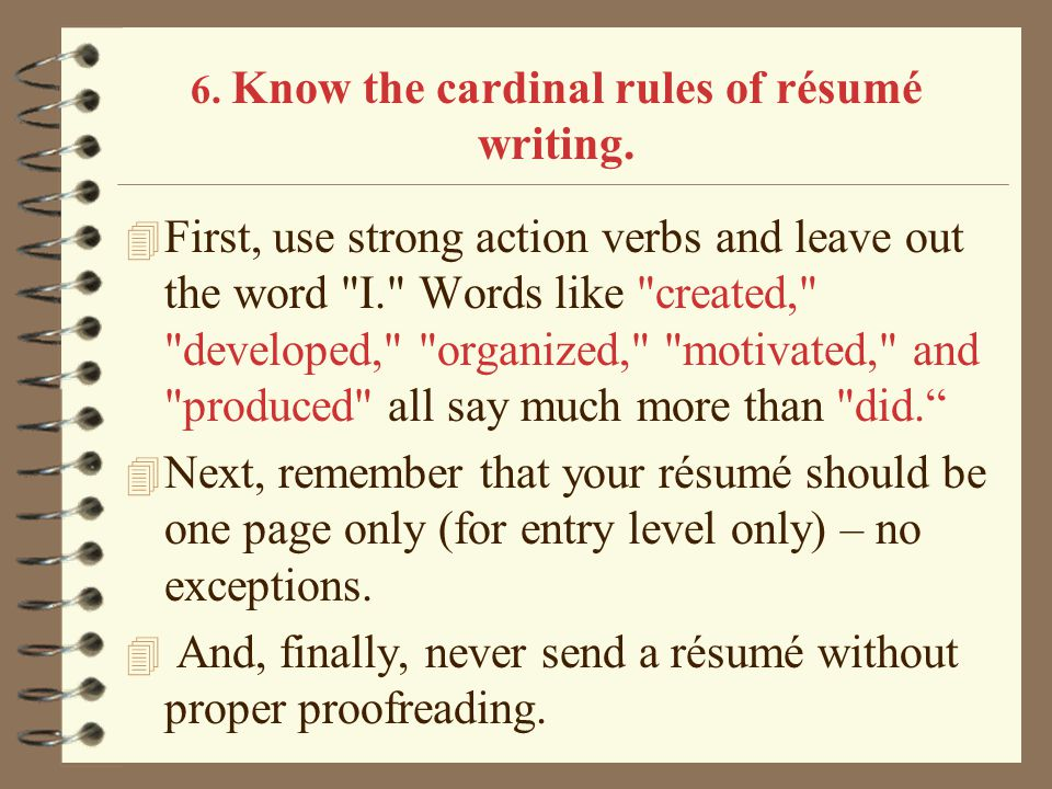 action verbs resume writing