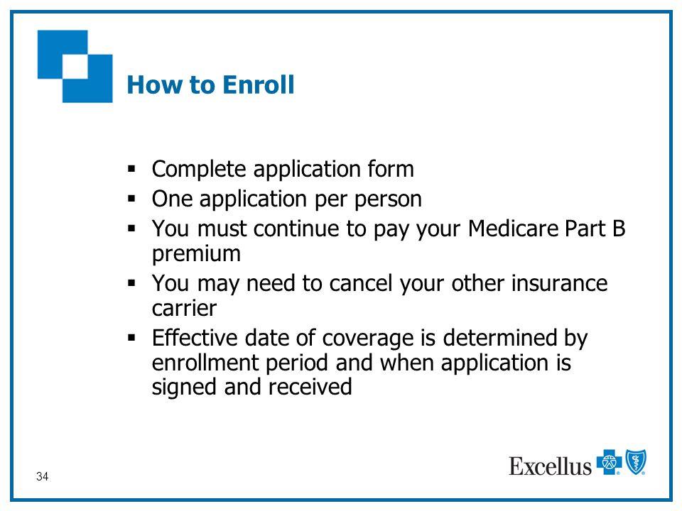 Welcome 2010 Excellus BlueCross BlueShield Medicare Plans Workshop