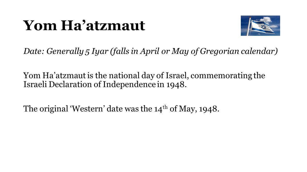 Gregorian Calendar Reform Yom Jewish Holiday Calendar Reformjudaismorg The Jewish Calendar Ppt Download