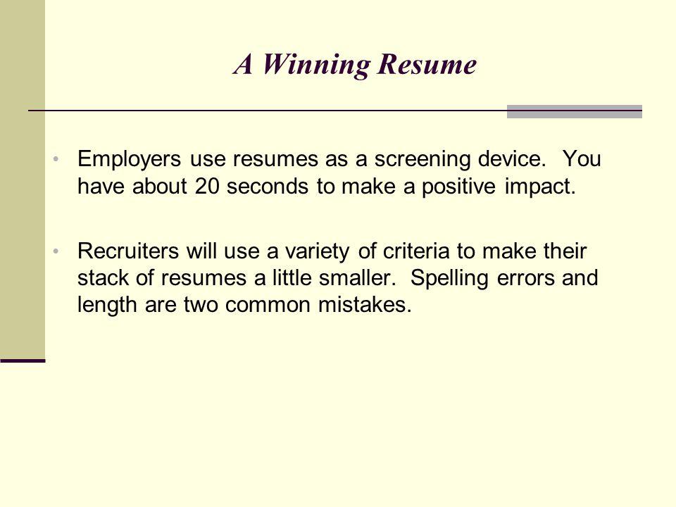 a winning resumes - Josemulinohouse - winning resumes