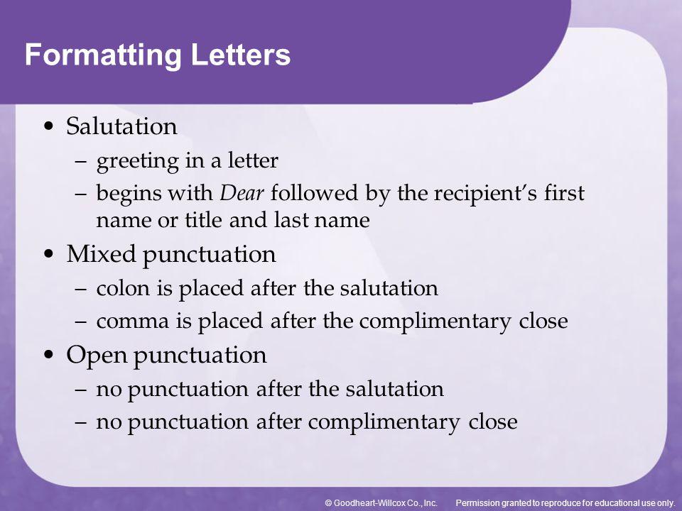 cover letter salutation comma or colon - Josemulinohouse