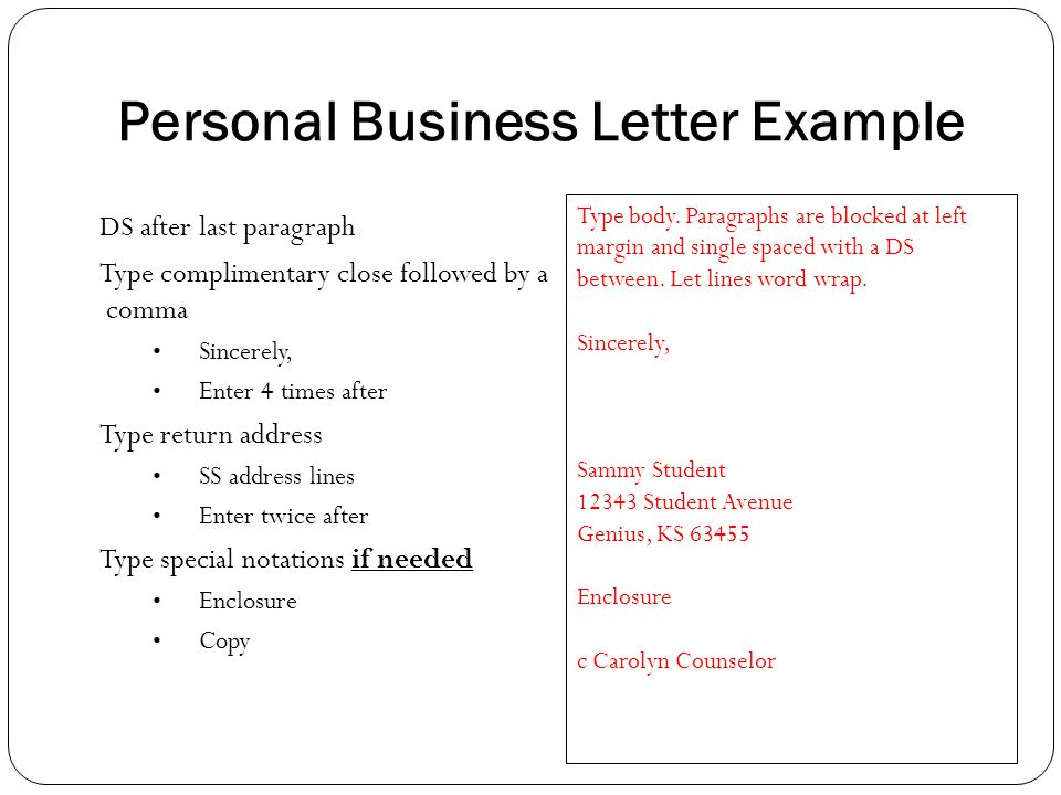 example of body the letter 2 complimentary close examplesimg g3