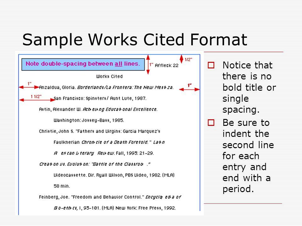 Works Cited Mla Format Generator Free