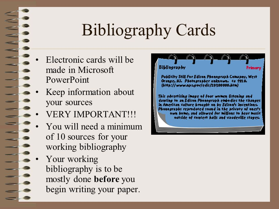 Using Notecards For Research Paper Powerpoint