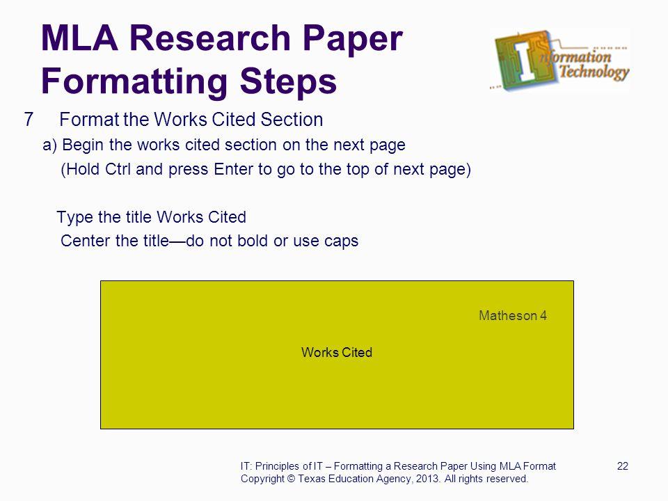 mla essay title page mla research paper title page format  original