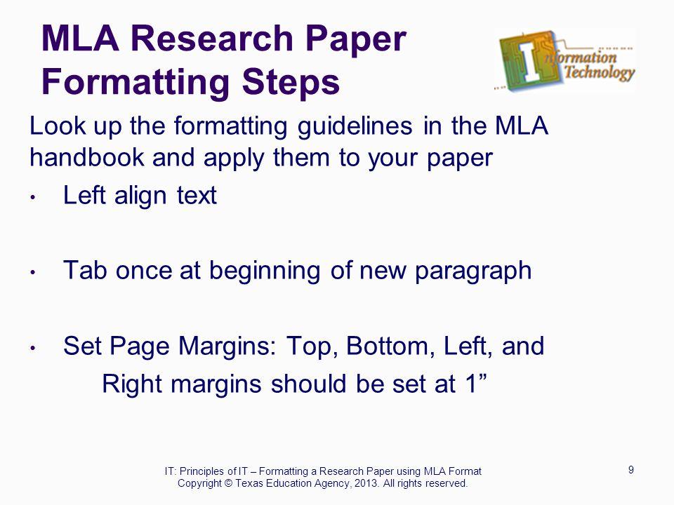 Default Margins Research Paper