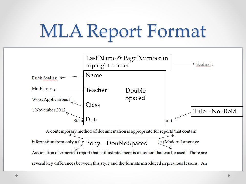mla format name date teacher - Klisethegreaterchurch - mla format