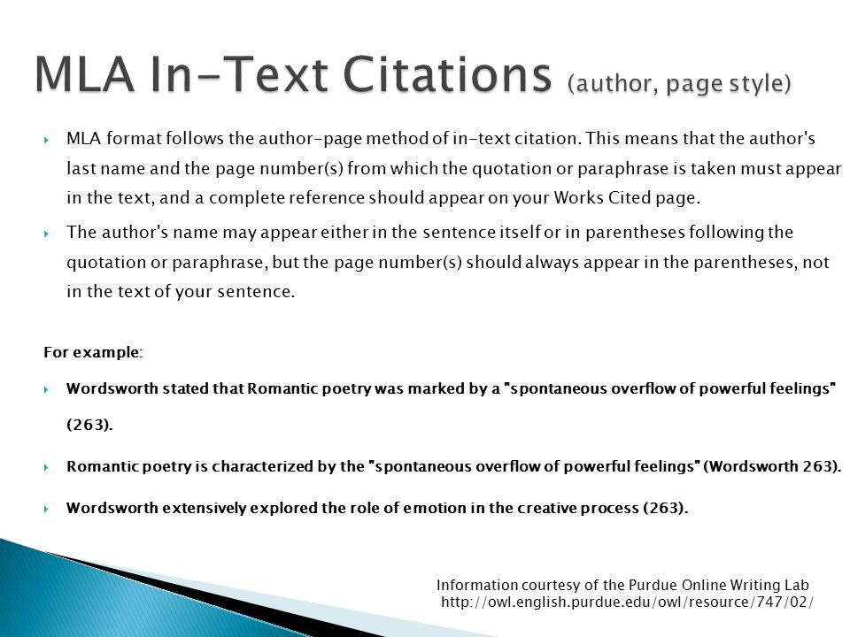 how to cite pages in mla format - Peopledavidjoel
